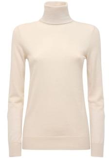 Loro Piana Light Cashmere Knit Turtleneck Sweater