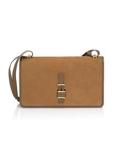 Loro Piana Lock In Leather Crossbody Bag