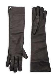 Loro Piana Long Leather Gloves