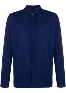 Loro Piana long-sleeve shirt jacket