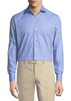 Loro Piana Albert Micro-Fancy Sport Shirt