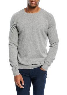 Loro Piana Cashmere Baseball Crewneck  Sweater