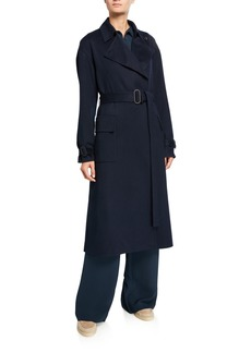 Loro Piana Cashmere Belted Trench Coat