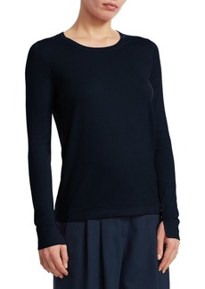 Loro Piana Cashmere Long-Sleeve Pullover