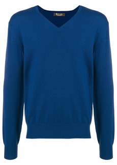 Loro Piana cashmere V-neck sweater - Blue