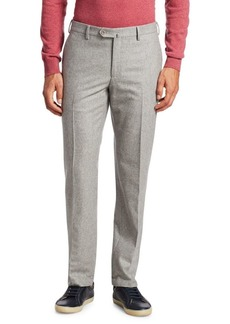 Loro Piana Classic Flannel Trousers