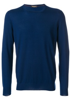 Loro Piana classic long sleeved sweater - Blue