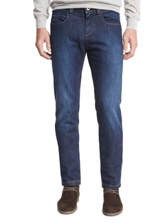 Loro Piana Clean-Wash Straight-Leg Jeans