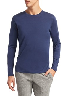 Loro Piana Cotton & Silk Crewneck Tee