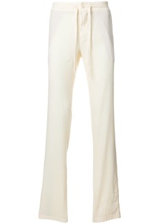 Loro Piana drawstring mid rise trousers - White