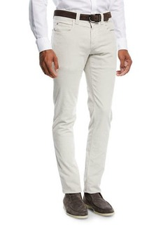 Loro Piana Five-Pocket Slim-Fit Pants