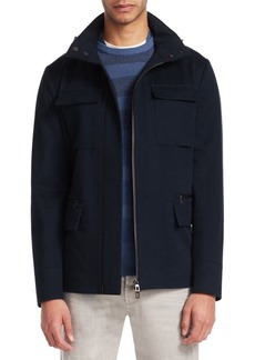 Loro Piana Full-Zip Hooded Jacket