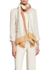 Loro Piana Infinito Colorblock Border Stole