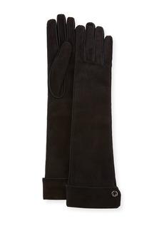 Loro Piana Jacqueline Theatre Suede Gloves