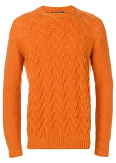 Loro Piana knit jumper - Yellow & Orange