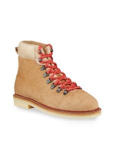 Loro Piana Lady Laax Walk Calf Hair Hiker Boots
