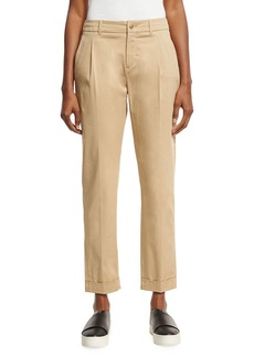 Loro Piana Marcus Pleated Ankle Pants