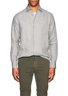 Loro Piana Men's Arizona Linen Shirt
