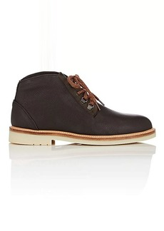 Loro Piana Men's Aspen Walk Leather Chukka Boots