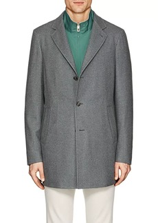 Loro Piana Men's Brushed Cashmere Topcoat