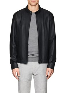 Loro Piana Men's Calfskin Bomber Jacket