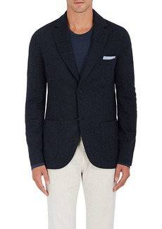 Loro Piana Men's Cashmere-Blend Jersey Two-Button Sportcoat