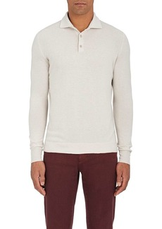 Loro Piana Men's Cashmere Polo Shirt