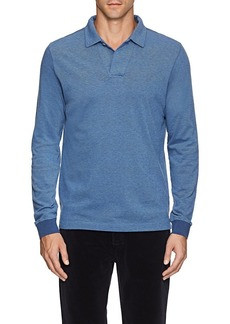 Loro Piana Men's Cotton Piqué Polo Shirt