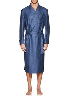 Loro Piana Men's Julien Silk-Cashmere Robe