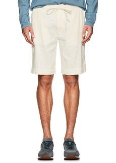 Loro Piana Men's Linen-Blend Drawstring Shorts