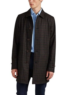 Loro Piana Men's Reversible Checked Flannel & Tech-Twill Jacket