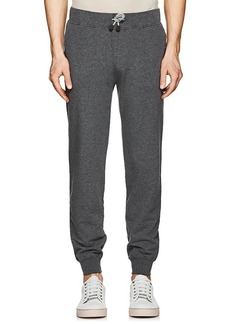 Loro Piana Men's Stretch-Cotton Terry Jogger Pants
