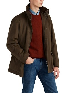 Loro Piana Men's Winter Voyager Cashmere Melton Coat