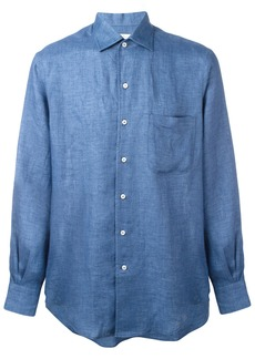 Loro Piana plain shirt - Blue