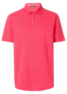 Loro Piana relaxed fit polo shirt - Pink & Purple