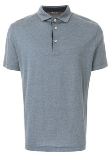Loro Piana short sleeved polo shirt - Blue