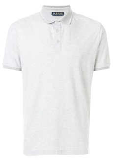 Loro Piana short sleeved polo shirt - Grey