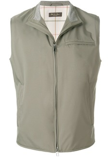 Loro Piana Southend gilet - Green