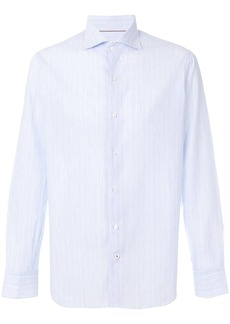 Loro Piana striped button-down shirt - Blue