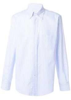 Loro Piana striped classic shirt - Blue