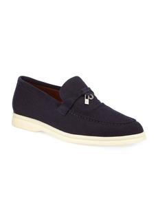 Loro Piana Summer Walk Cashmere Loafers