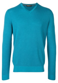 Loro Piana V-neck sweater - Blue