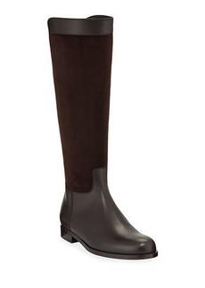 Loro Piana Welly Calf Flat Riding Boots