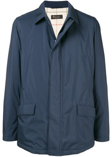 Loro Piana zip lightweight jacket - Blue
