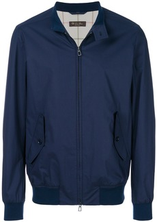 Loro Piana zipped jacket - Blue
