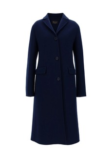 Loro Piana Louan Baby Cashmere Double-Faced Coat