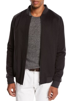 Loro Piana Men's Ivy Cashmere Bomber Jacket