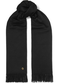 Loro Piana Opera Fringed Cashmere And Silk-blend Scarf