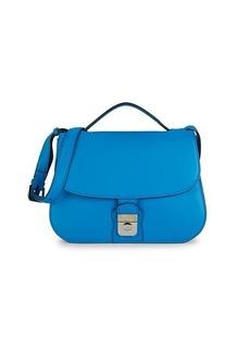 Loro Piana Poker Leather Crossbody Bag