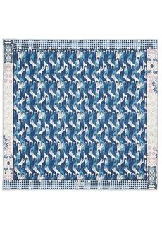 Loro Piana Printed Silk Scarf